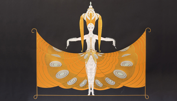ART-DECO. ERTE. NEW APPEARANCE.
