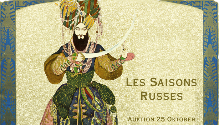 Russian Seasons. Russian art auction №1.